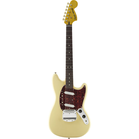Squier Vintage Modified Mustang® Vintage White - Octave Music Store