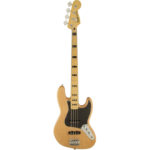 Squier Vintage Modified Jazz Bass® '70s, Maple Fingerboard, Natural