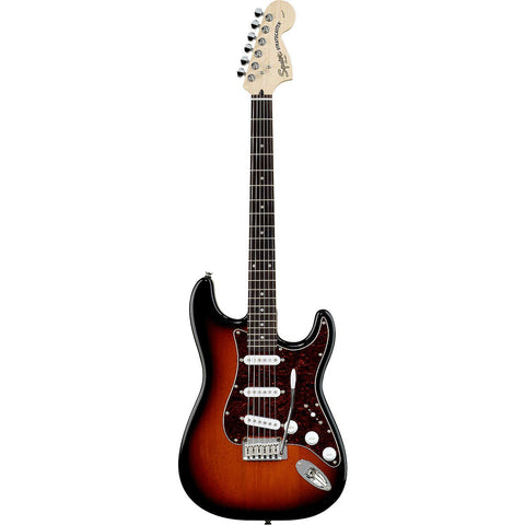 SQUIER® STANDARD STRATOCASTER® ELECTRIC GUITAR - ANTIQUE BURST - Octave Music Store - 1