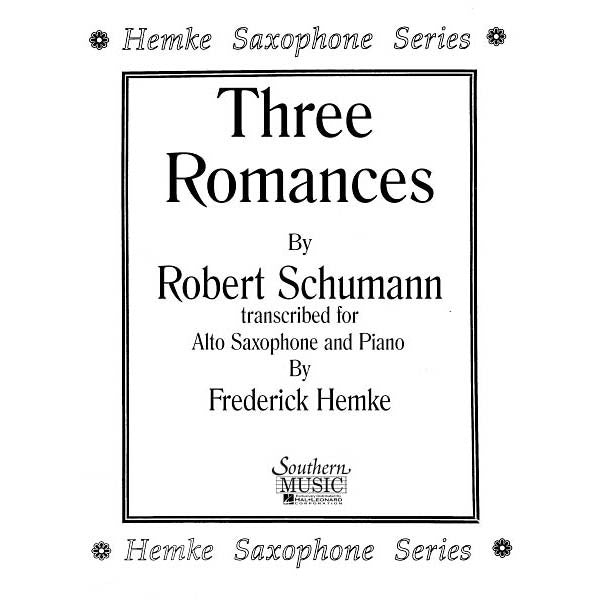 Three Romances - Octave Music Store