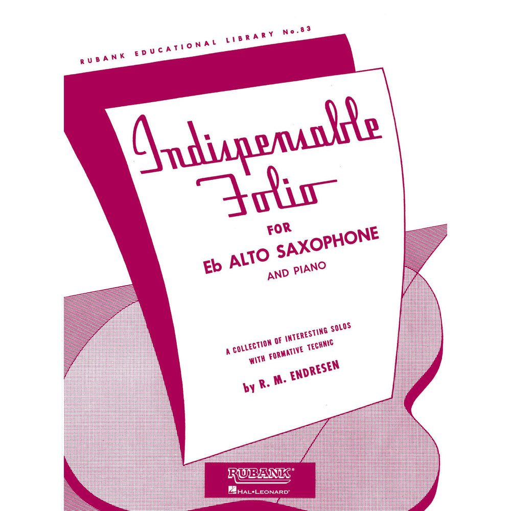Indispensable Folio - Eb Alto Saxophone and Piano - Octave Music Store