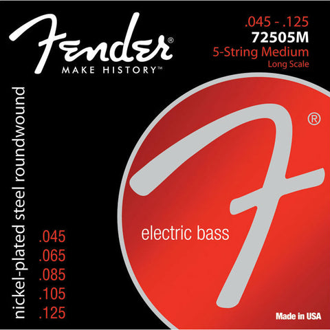 7250 BASS STRINGS (5-STRING) MEDIUM - Octave Music Store