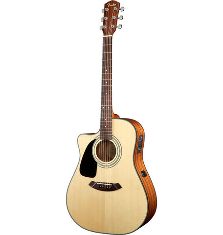 Fender CD-100CE Left-Hand Acoustic Guitar - Octave Music Store