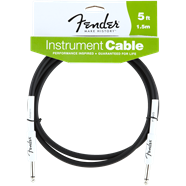 FENDER® PERFORMANCE SERIES INSTRUMENT CABLE, 5', BLACK