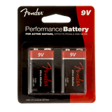 Fender 9V Ultra Alkaline Performance Battery
