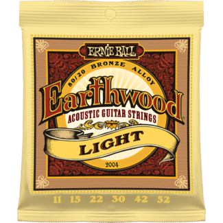 Ernie Ball EARTHWOOD LIGHT ACOUSTIC 80/20 BRONZE Strings - Octave Music Store