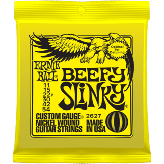 Ernie Ball BEEFY SLINKY NICKEL WOUND Guitar Strings - Octave Music Store