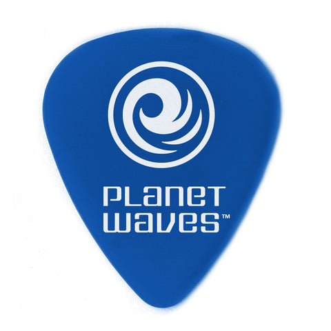 "Planet Waves Duralin Picks (Blue 10 Pack) Medium/Heavy 1.0mm-0.39"" - Octave Music Store"
