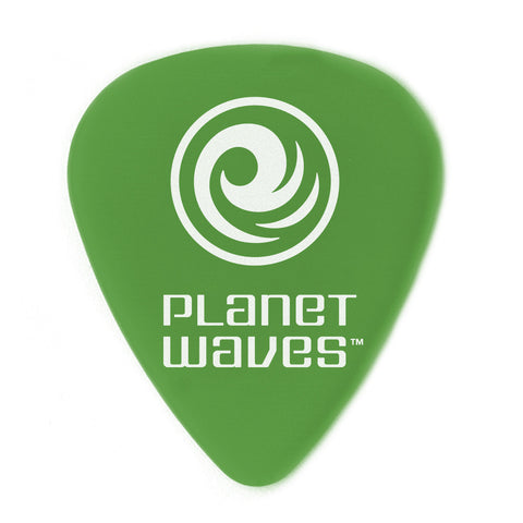 "Planet Waves Duralin Picks (Green 10 Pack) Medium 0.85 mm-0.33"" - Octave Music Store"