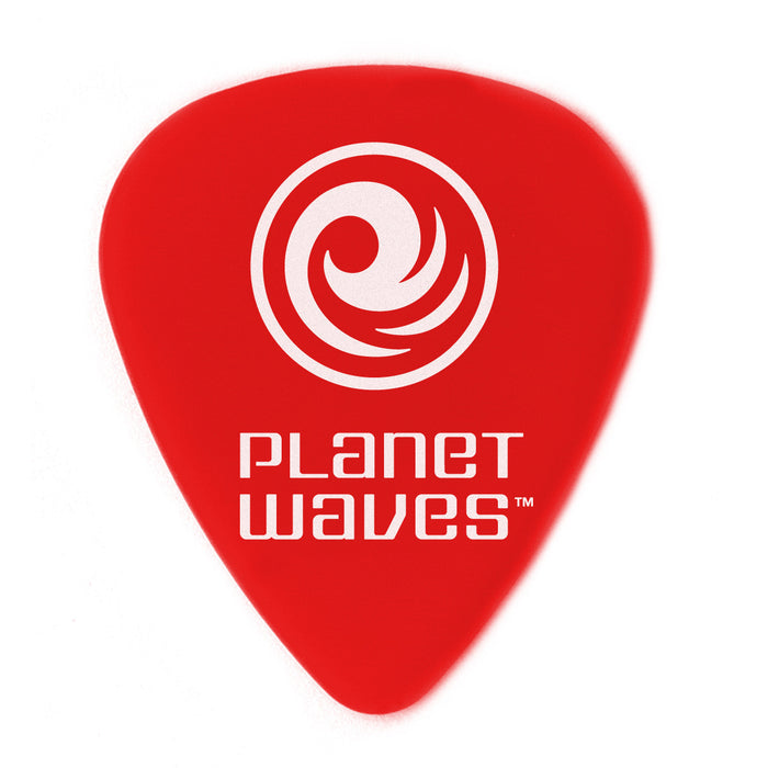 "Planet Waves Duralin Picks (Red 10 Pack) Super/Light 0.50 mm-0.19"" - Octave Music Store"
