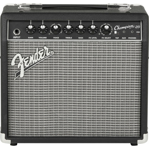 Fender Champion™ 20 Combo Guitar Amp - Octave Music Store - 1