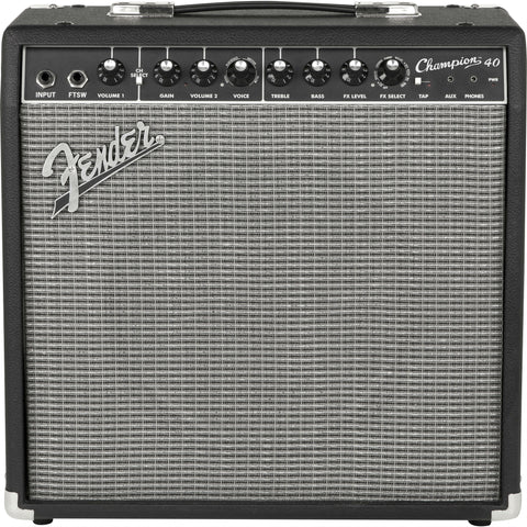 FENDER CHAMPION™ 40 GUITAR AMP - Octave Music Store - 1