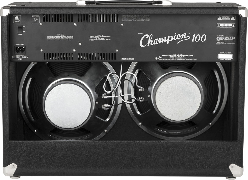 Fender Champion™ 100 Combo Guitar Amp - Octave Music Store - 3