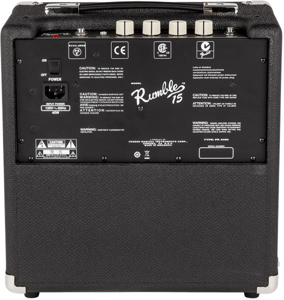 Fender Rumble 15 Bass Amp - Octave Music Store - 2
