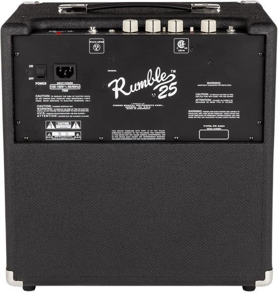 Fender RUMBLE™ 25 Bass Amp - Octave Music Store - 2