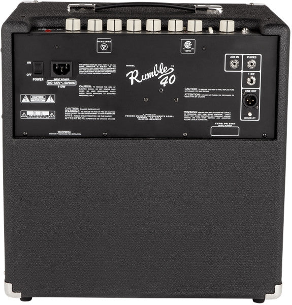 Fender RUMBLE™ 40 Bass Amp - Octave Music Store - 2