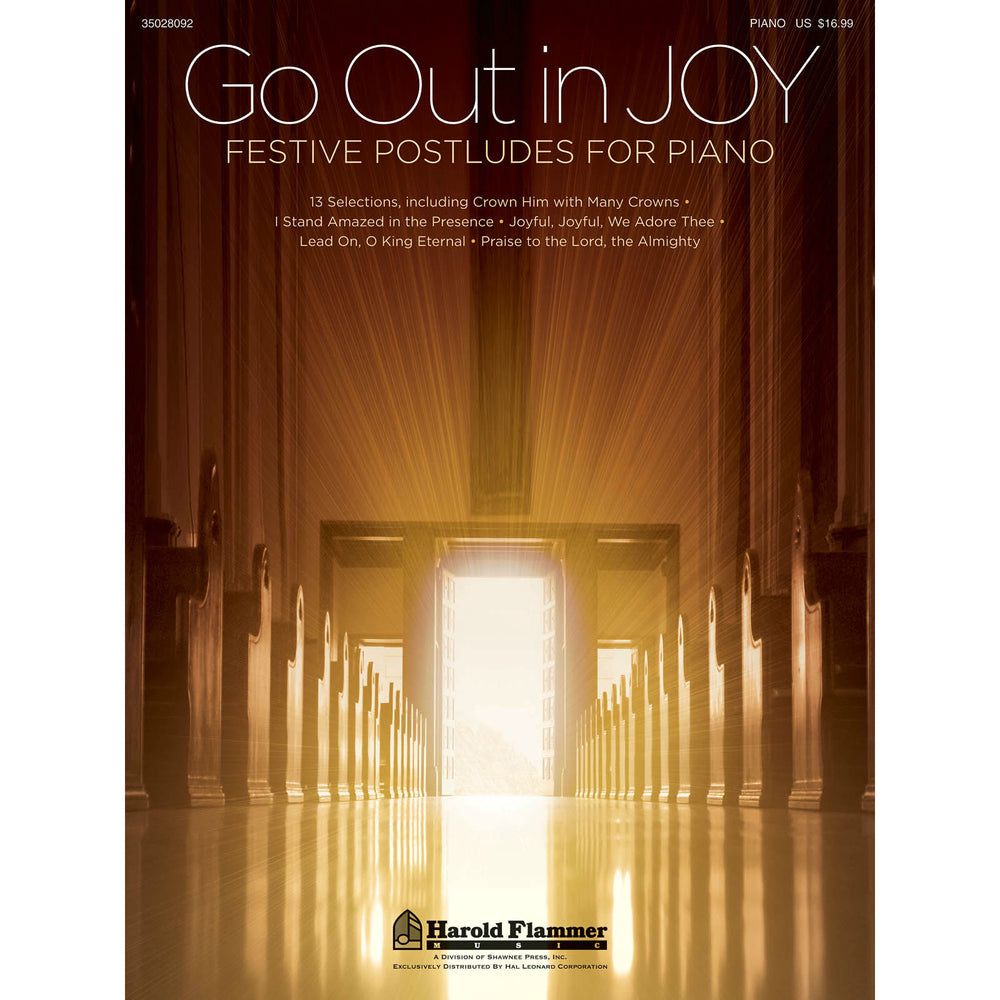 Go Out In Joy - Festive Postludes For Piano - Octave Music Store