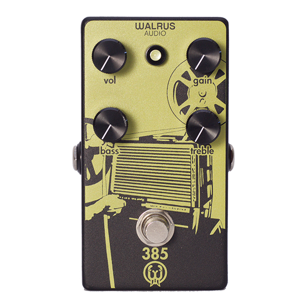 Walrus Audio 385 OVERDRIVE Pedal - Octave Music Store - 1