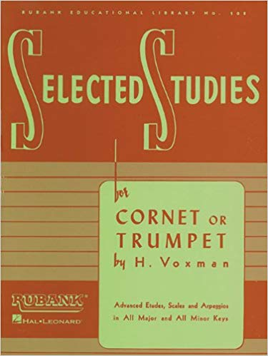Rubank Selected Studies - Cornet/trumpet