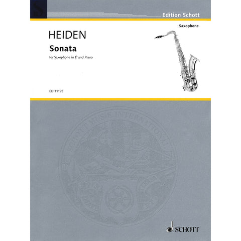 Sonata for Alto Saxophone & Piano - Octave Music Store