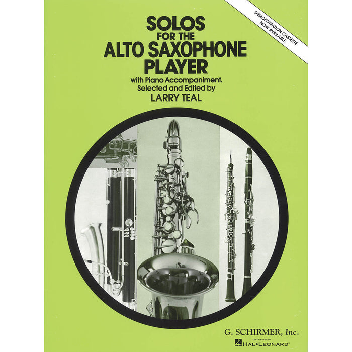 Solos for the Alto Saxophone Player - Octave Music Store