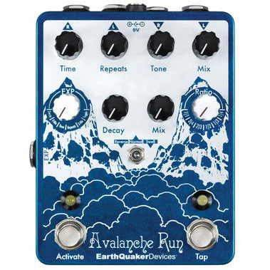 "Earthquaker Devices Delay Reverb Guitar Pedal - ""Avalanche Run"" - Octave Music Store - 1"