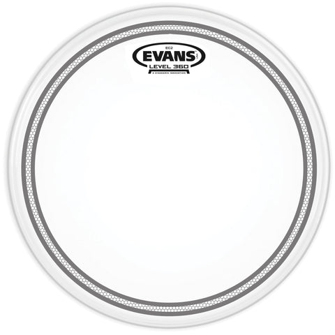 Evans EC2 Frosted Drum Heads - Octave Music Store - 1