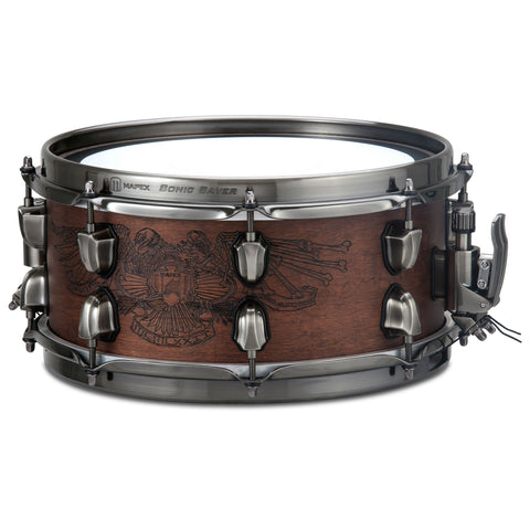 Mapex - Black Panther Warbird Chris Adler Snare Drum - Octave Music Store - 1