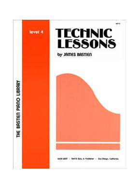 The Bastien Piano Library: Technic Lessons Level 4