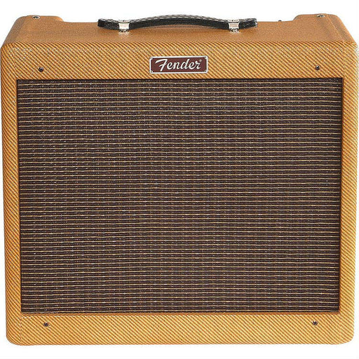Fender Blues Jr. Lacquered Tweed Combo Guitar Amp - Octave Music Store - 1