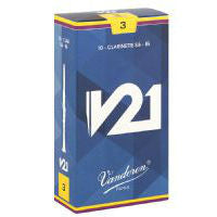Vandoren V21 Bb Clarinet Reeds (box of 10) - Octave Music Store - 1