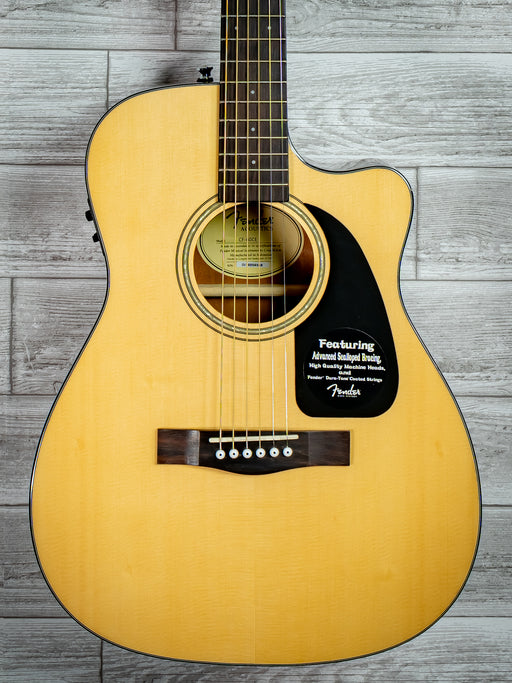 Fender CF-60CE Folk Acoustic Guitar w/Case