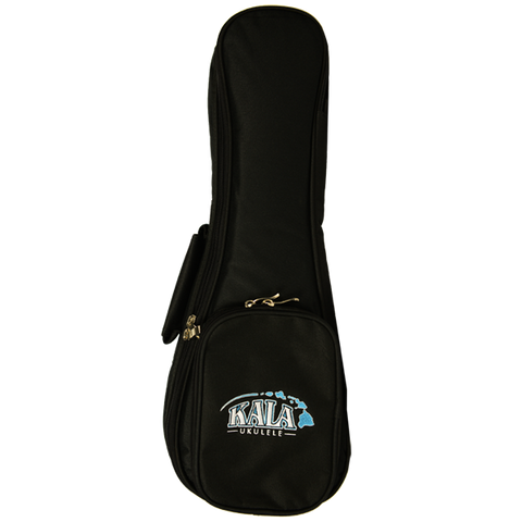 Kala Deluxe Tenor Ukulele Heavy Padded Ukulele Bag w/Hawaii Island Chain Logo