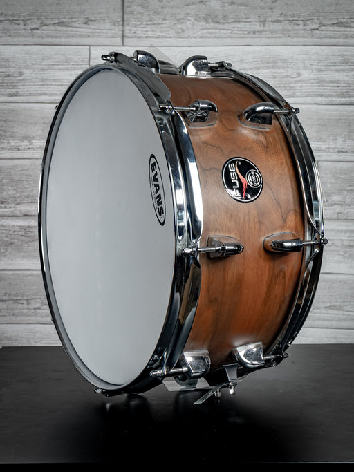 Dixon Natural Walnut Gloss Snare Drum