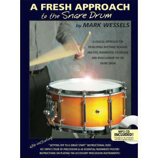 Mark Wessels - A Fresh Approach To The Snare Drum - Octave Music Store