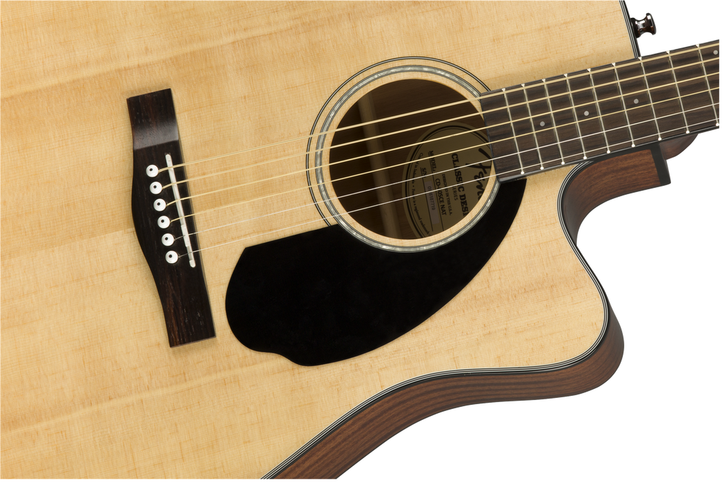 Fender: CD-60SCE, Natural Acoustic Guitar