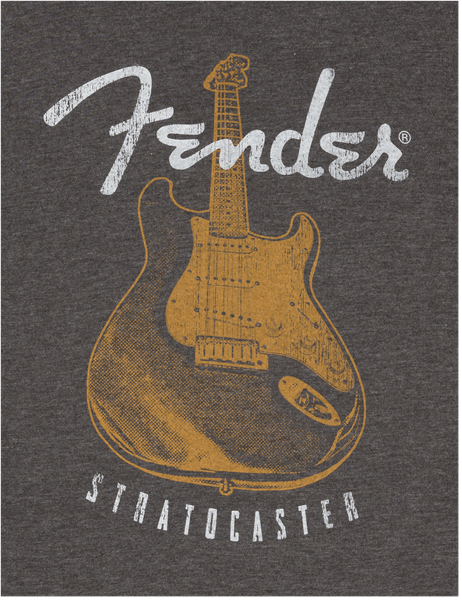 FENDER DISTRESSED STRAT FLAG T-SHIRT