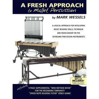 Mark Wessels - A Fresh Approach To Mallet Percusion - Octave Music Store