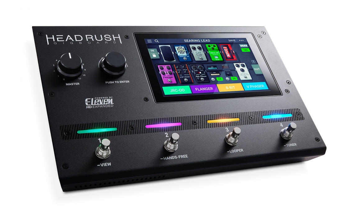 Headrush Gig Board Amp and FX Modeling Processor