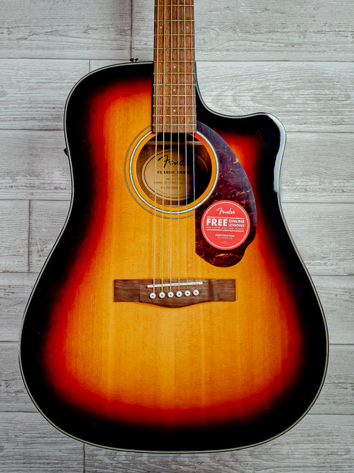 Fender CD-140SCE Dreadnought Acoustic Guitar