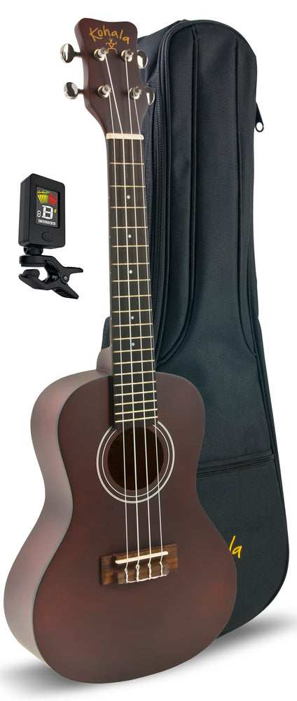 Kohala Concert Ukulele Player Pack