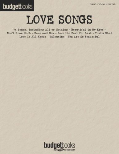 Love Songs for Piano, Vocal, Guitar