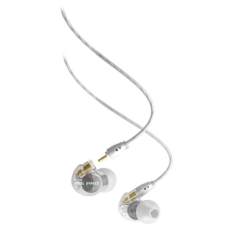 M6 Pro Universal-Fit Noise-Isolating Musician's IN-EAR Monitors (CLEAR) - Octave Music Store