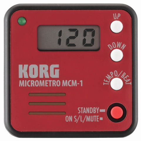 Korg - Clip On Metronome Red - Octave Music Store