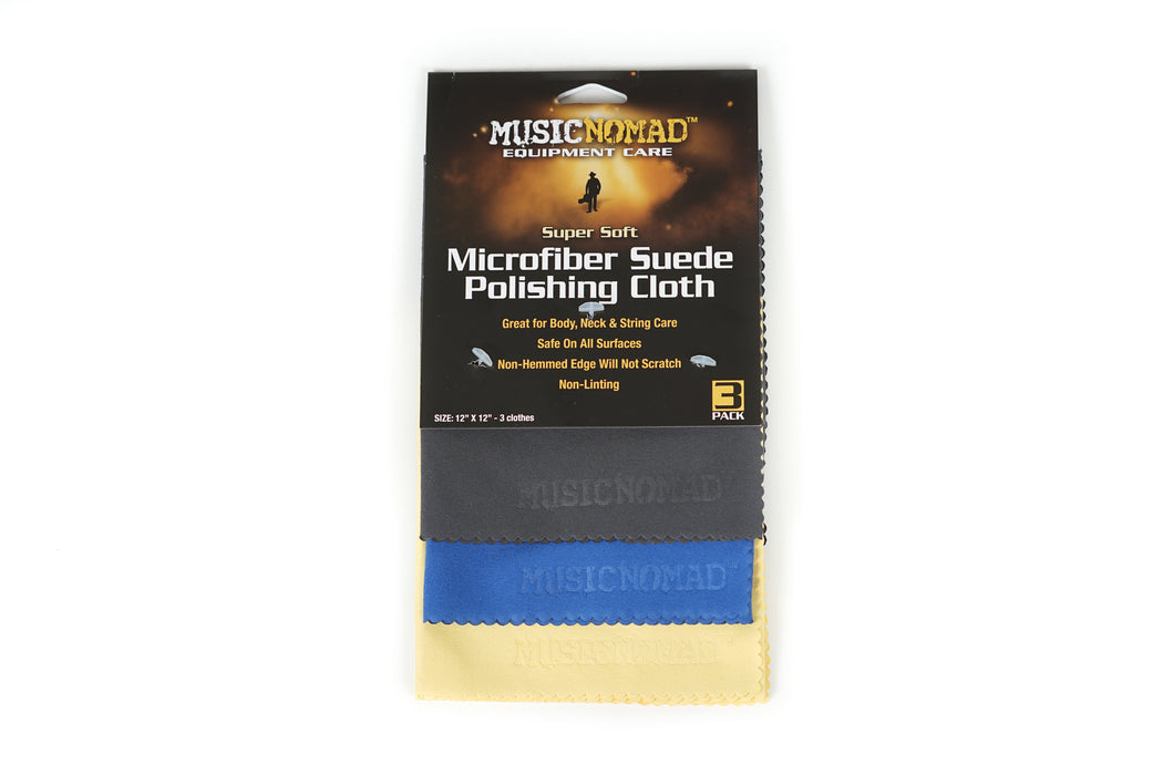 Music Nomad: Super Soft Microfiber Sued Polishing Cloth
