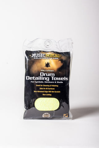 Music Nomad: Microfiber Drum Detailing Towels