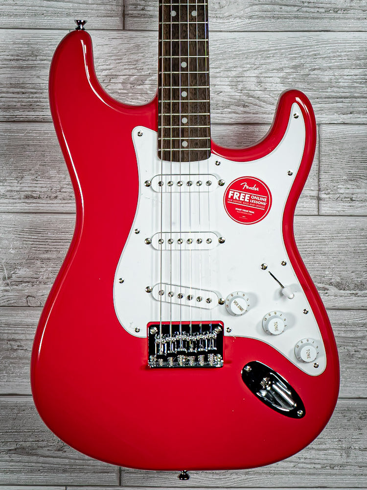 Squier Bullet Stratocaster HT - Fiesta Red