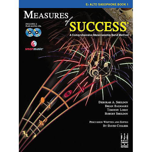 Measures of Success Eb Alto Saxophone Book 1 (With CD's)