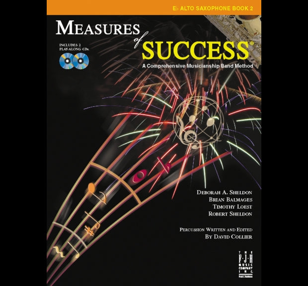 Measures of Success Eb Alto Saxophone Book 2 (With CD's)