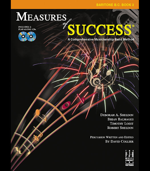 Measures of Success Baritone B.C. Book 2 (With CD's)